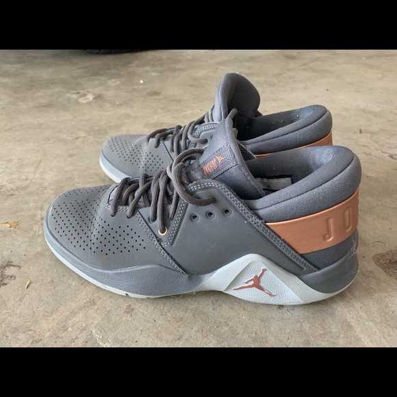 Rose Gold And Grey Youth Air Jordans